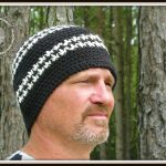 Free Crochet Hounds Tooth Hat Pattern
