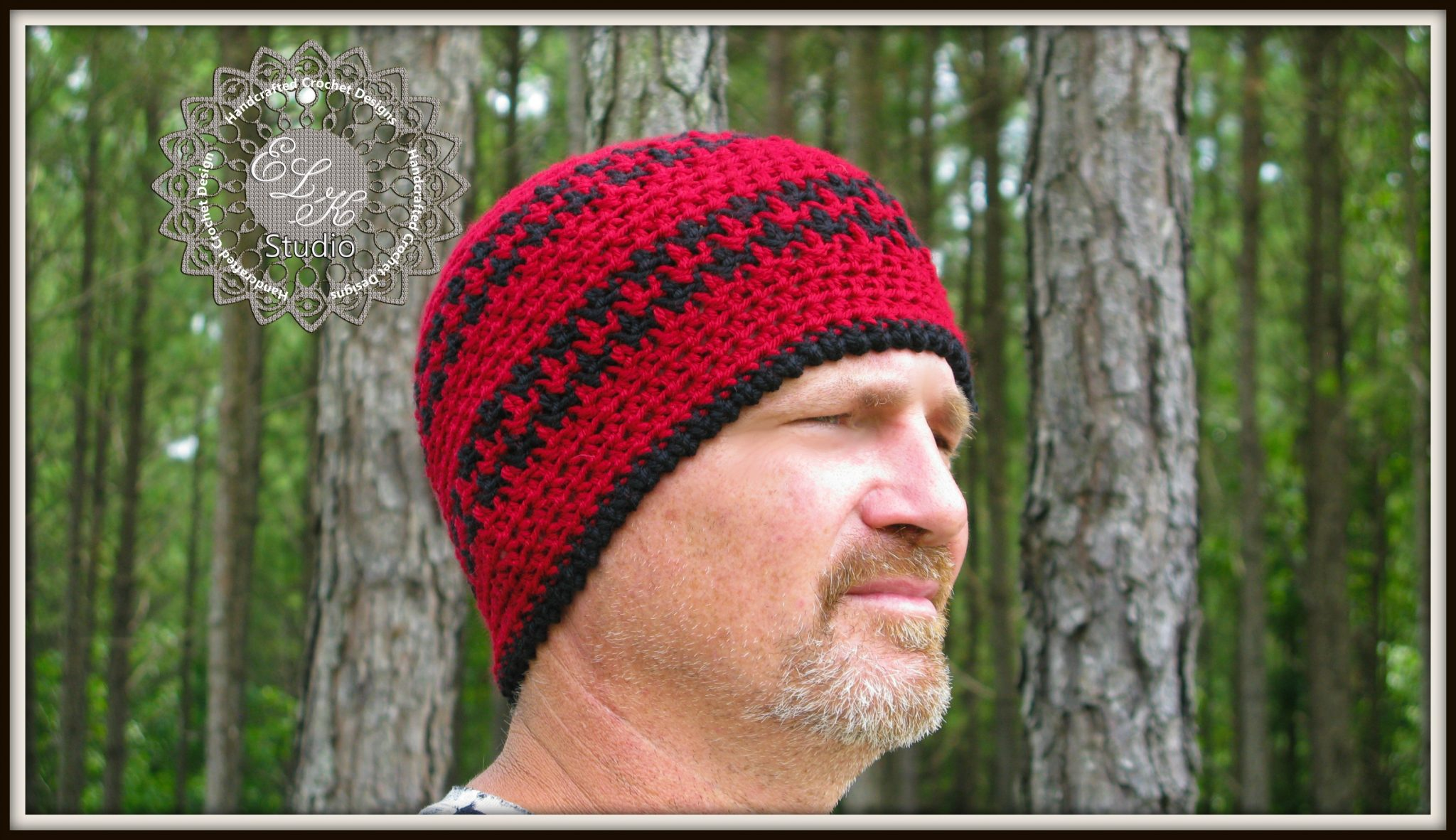 Free Crochet Hounds Tooth Hat Pattern - ELK Studio ...