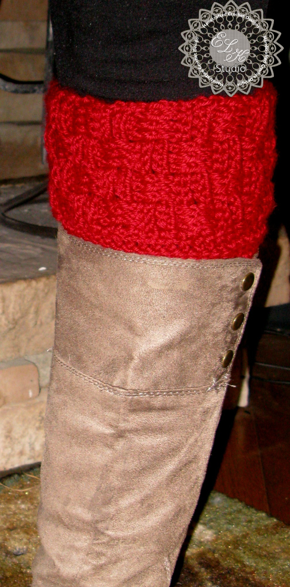 ELK Studio Boot Cuff
