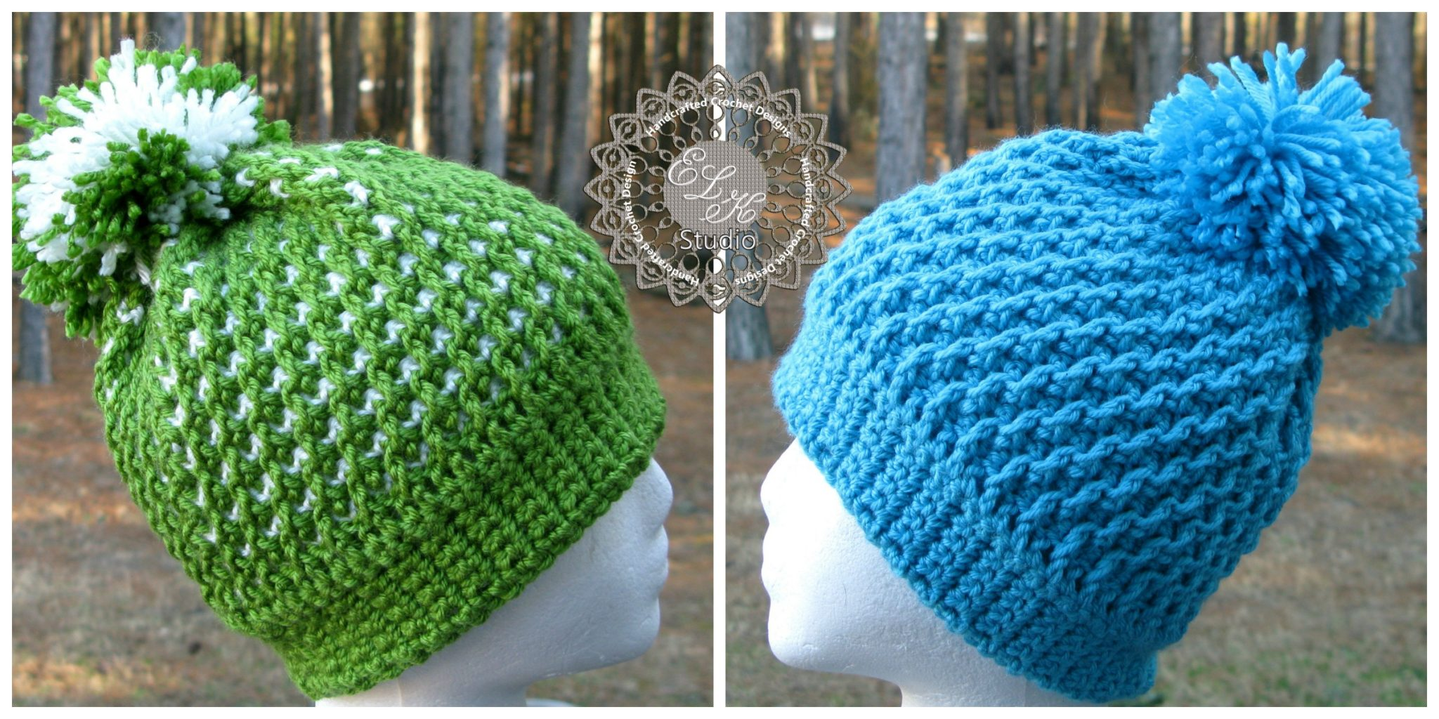 New Crochet : Its a New Crochet Hat Pattern! Free? Maybe..... - ELK Studio ...