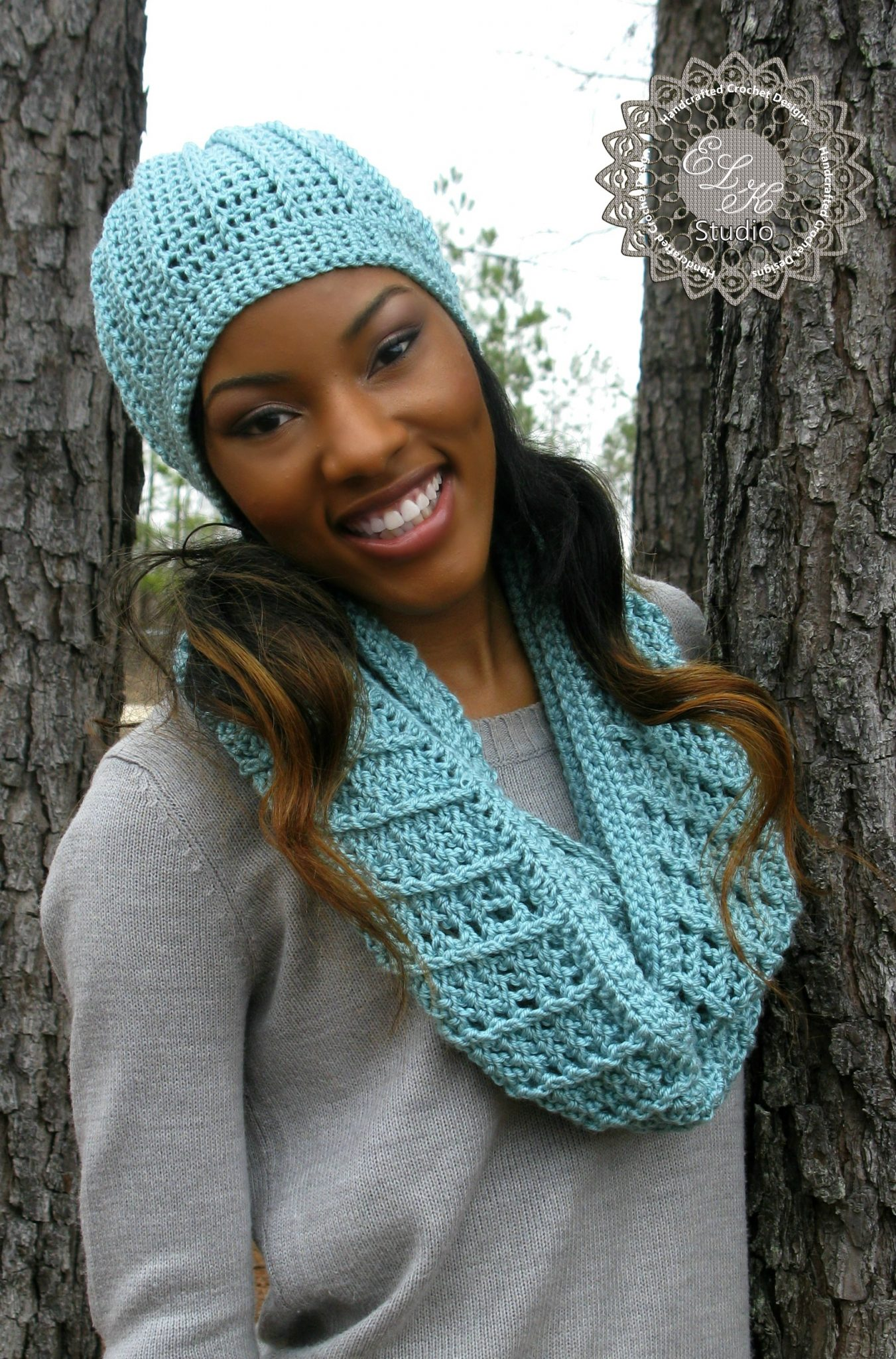 Free Crochet Patterns For Hats And Scarf Sets : Country Appeal - A Free Crochet Infinity Scarf Pattern ...