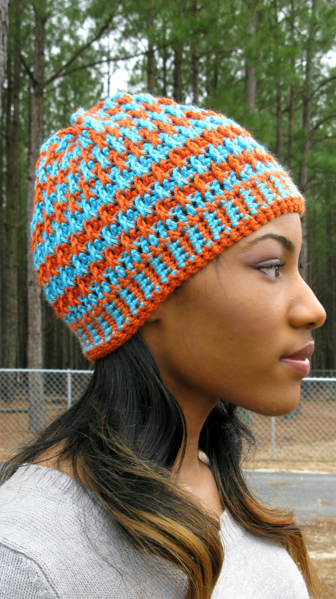 Free Crochet Pattern For Deerstalker Hat : Morning Frost - A Free Crochet Hat Pattern - ELK Studio ...