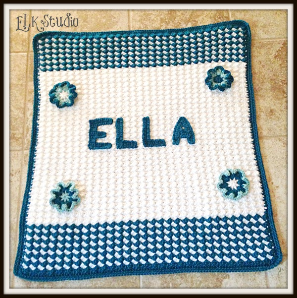 Ella's Baby Blanket by ELK Studio
