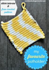 Here's is Oombawaka Design's favorite potholder , and I think it ...