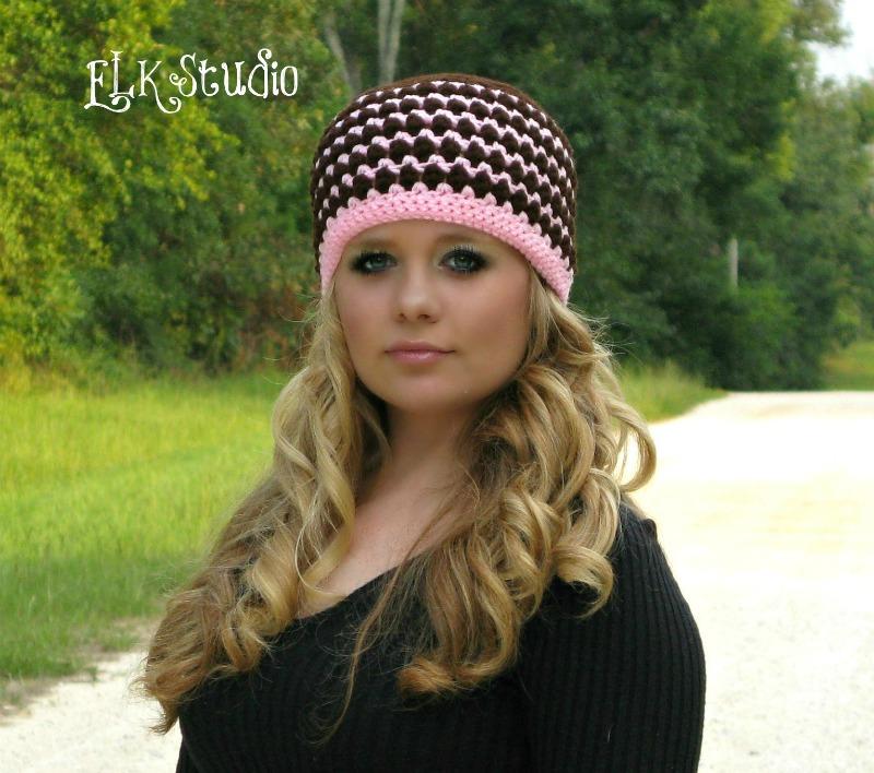 Free Easy Crochet Winter Hat Pattern : Kodeys Beanie - A Free Crochet Hat Pattern by ELK Studio