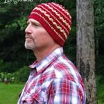 Autumn Dew - A Free Crochet Beanie hat by ELK Studio