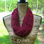 """Just to be Cute"" Free Crochet Scarf!"