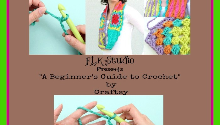ELK Studio Present A Beginners Guide to Crochet 1
