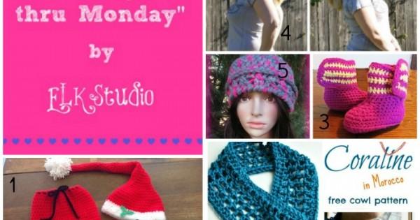 Making it thru Monday Crochet Review #75 #crochet #MITM