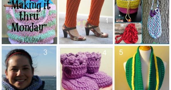 Making it thru Monday Crochet Review #77 by ELK Studio