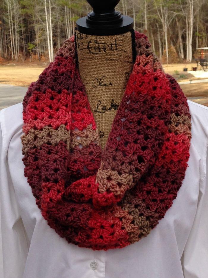 sunset scarf a free crochet pattern by elk studio