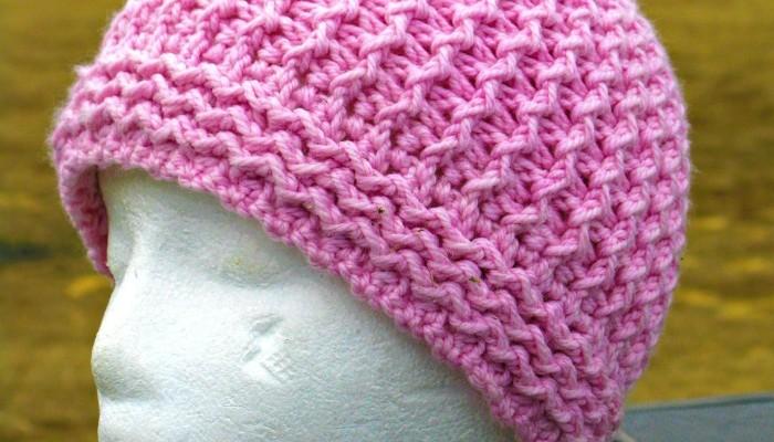 Just Groovin Beanie by ELK Studio #freepattern #crochetpattern