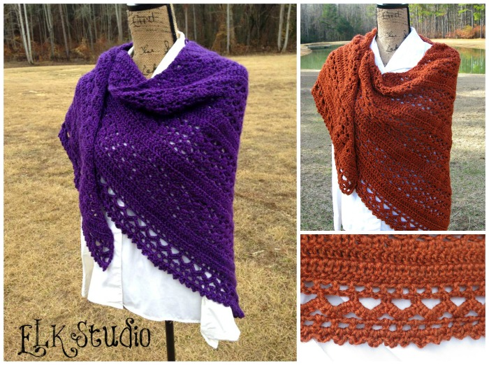 Wrapped In Warmth Crochet Shawl By Elk Studio