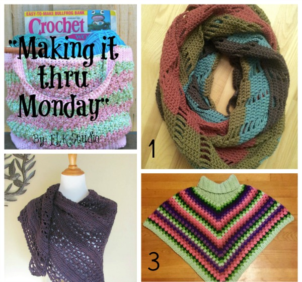 Making it thru Monday Crochet Review #82 by ELK Studio #crochet