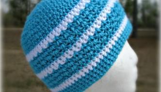 Hint of Spring Crochet Beanie by ELK Studio #beanie #freepattern
