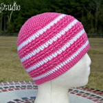 Hint of Spring Using Cascade Ultra Pima Cotton by ELK Studio #chemohat #cottonyarn #freepattern