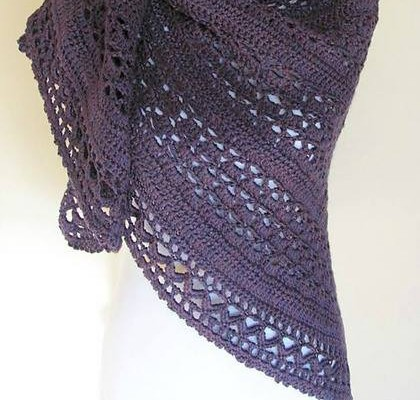 Wrapped in Warmth by ELK Studio Best Shawl Design First Quarter 2015