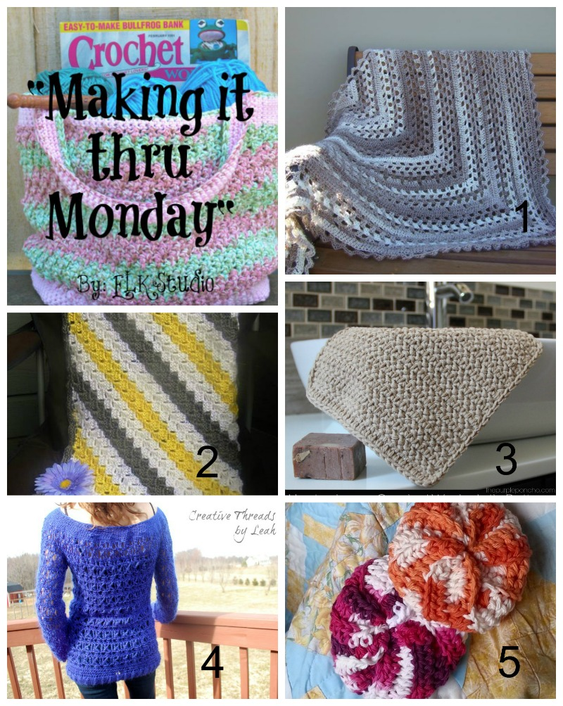 Making it thru Monday Crochet Review #86 by ELK Studio #crochet