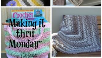 Making it thru Monday Crochet Review #86 #freecrochet