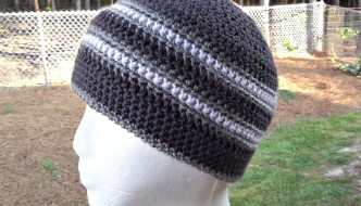 Stay Strong Beanie by ELK Studio #crochet #freepattern #craft #DIY