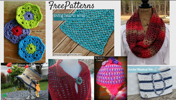 free crochet pattern inspiration
