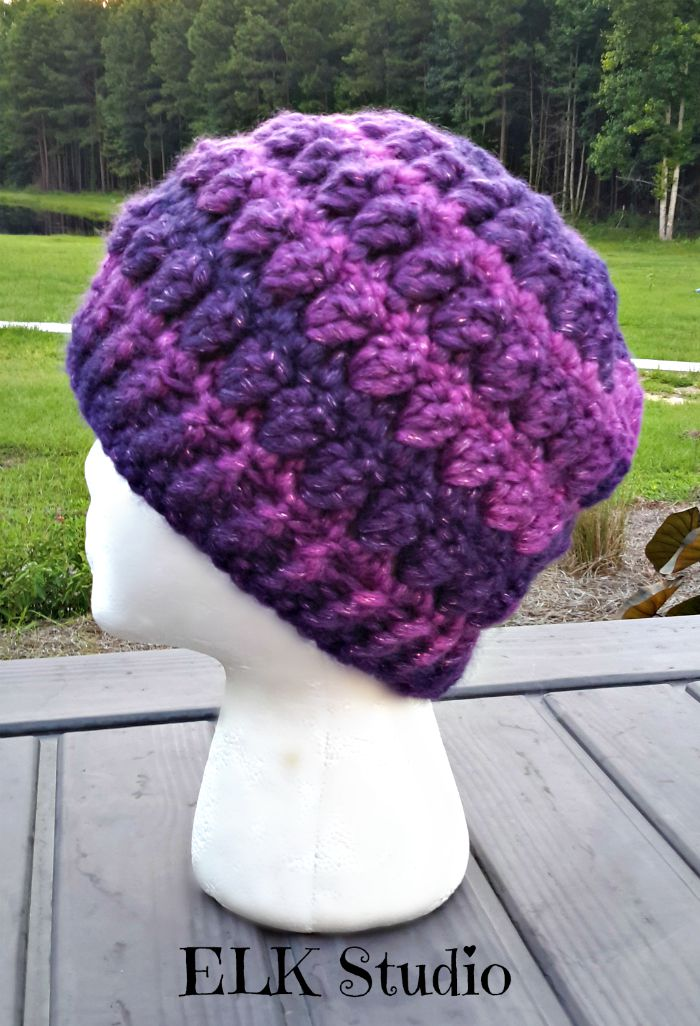 Bulky Yarn Child Hat Pattern Crochet : Christmas Present Crochet-Along Project #2 by ELK Studio!