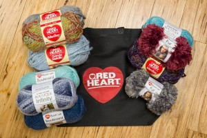"Red Heart Yarns Giveaway Celebrating ""Make it for Me"""